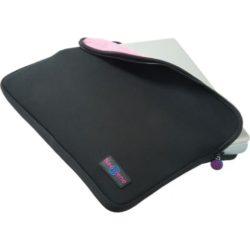 10 inch neoprene zipped printed laptop sleeve pfn1457