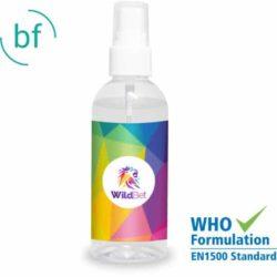 100ml promotional hand sanitiser spray pfn1475