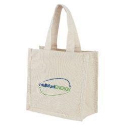 10oz ludlow mini canvas printed gift bags pfn1178
