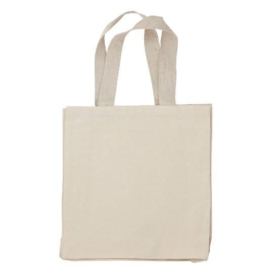 10oz wrexham unbleached cotton canvas promotional shopping bags pfn1190