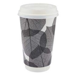16oz compostable printed coffee cups pfn1195