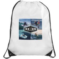 210d polyester verve promotional drawstring bags pfn1580