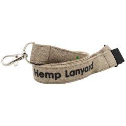 25mm hemp printed lanyards pfn1354