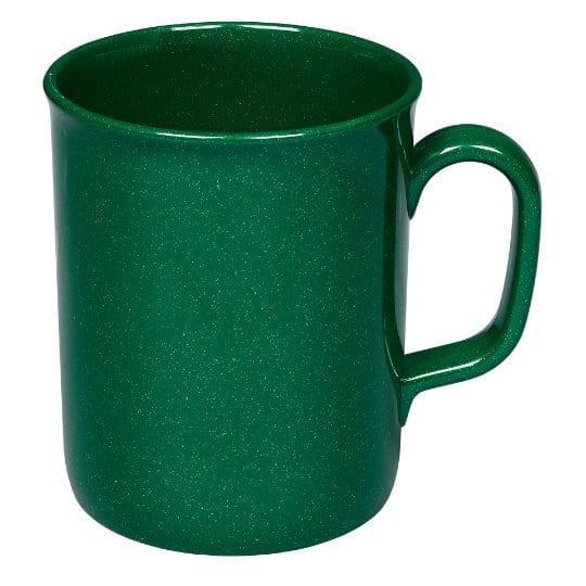275ml theo recycled printed mugs in green pfn1201