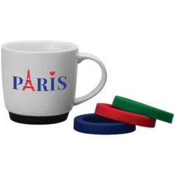300ml porcelain paris promotional mugs pfn1290