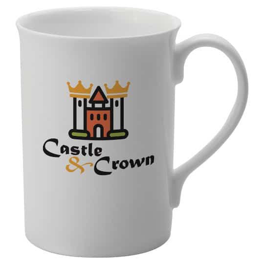 320ml bone china promotional windsor mugs pfn1297