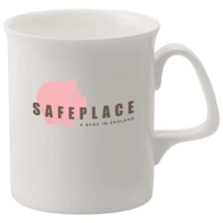 330ml bone china Marlborough promotional mugs pfn1291