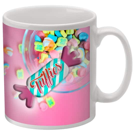 330ml earthenware promotional durham mugs pfn1289