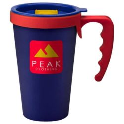 350ml universal printed travel mugs with handle pfn1303