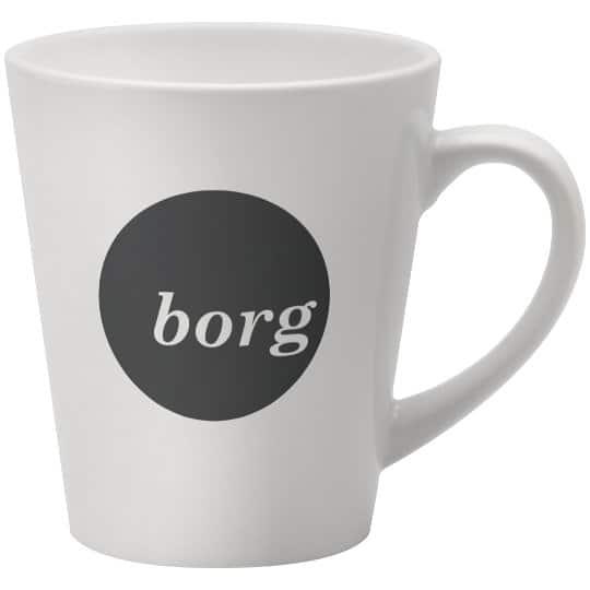 370ml earthenware promotional deco mugs pfn1280