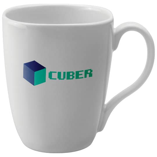 370ml earthenware promotional quadra mugs pfn1286