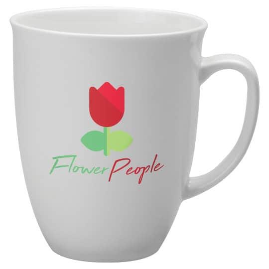 400ml bone china printed tulip mugs pfn1295
