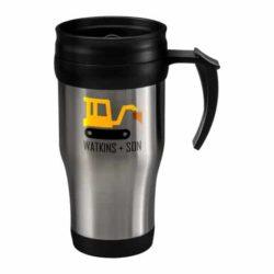 400ml thermal printed travel mugs with handle pfn1309