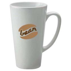 480ml earthenware printed latte mugs pfn1278