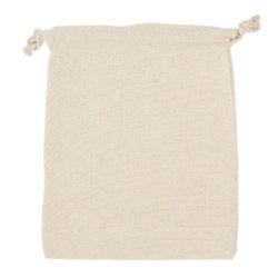 4oz medium printed unbleached drawstring pouch pfn1175
