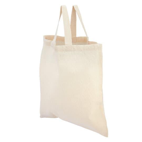 4oz portobello printed unbleached cotton shopping bags pfn1183