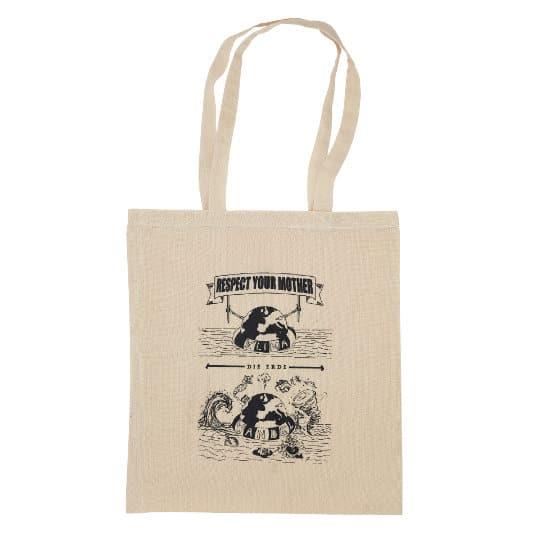 4oz Portobello organic cotton promotional shopping bags pfn1184