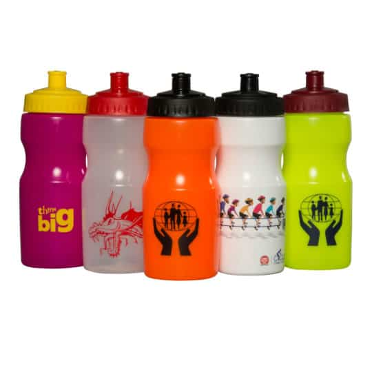 500ml apollo printed sports bottles group shot pfn1147