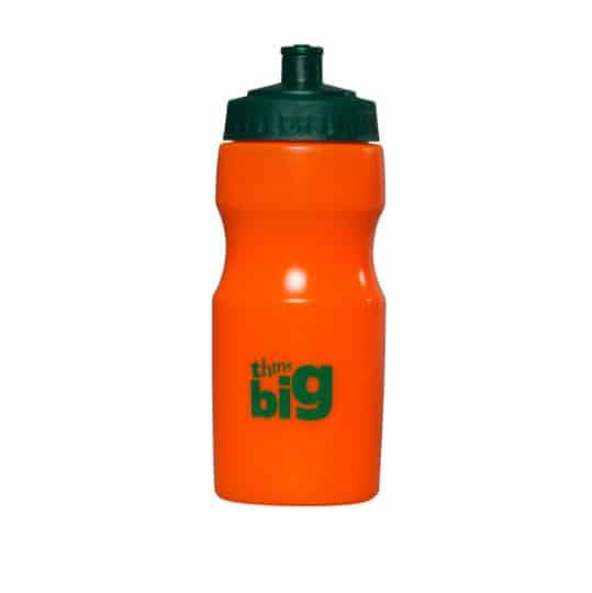 500ml apollo printed sports bottles orange pfn1147