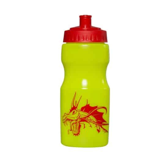 500ml apollo printed sports bottles yellow pfn1147