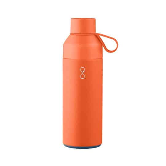500ml x-ocean eco friendly promotional drinking bottles in orange pfn1202