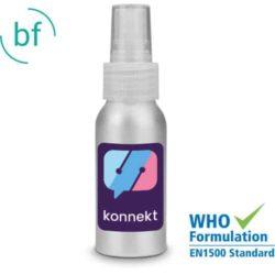 50ml aluminium printed hand sanitiser spray pfn1473