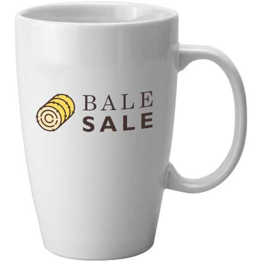 580ml earthenware promotional hayward mugs pfn1288