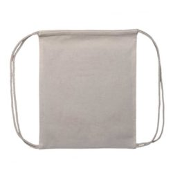 5oz natural printed cotton drawstring bags pfn1104