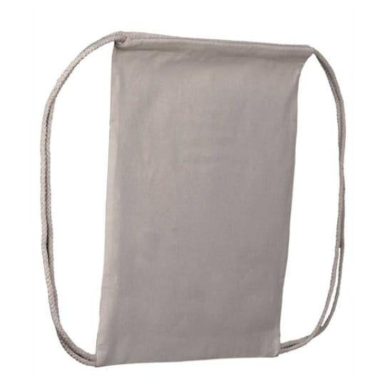 5oz natural promotional cotton drawstring bags pfn1104