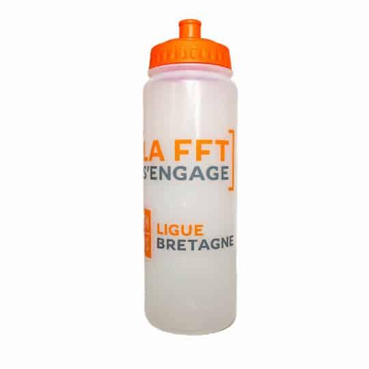 750ml Olympic biodegradable promotional sports bottles in orange pfn1143