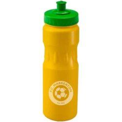 750ml teardrop printed sports bottles pfn1314