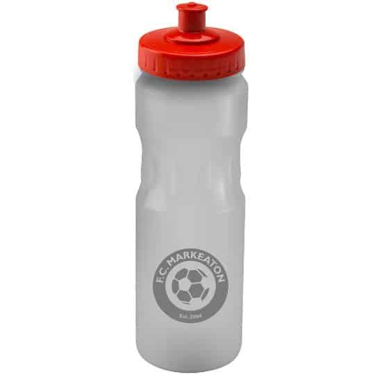 750ml teardrop printed sports bottles red lid pfn1314