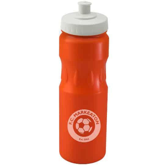 750ml teardrop printed sports bottles white lid pfn1314