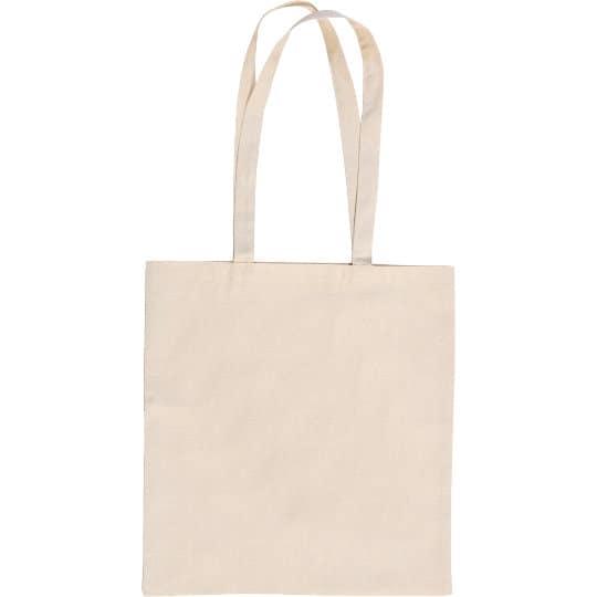 7oz Berkley printed cotton tote bags side view pfn1572