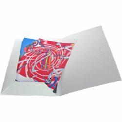 A4 printed polypropelene conference folder pfn1451