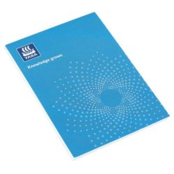 A4 printed recycled notepads with cover pfn1212