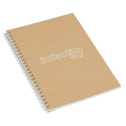 A5 printed recycled card wiro notebooks pfn1219