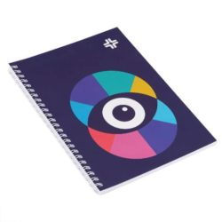 A5 printed recycled wiro notebooks pfn1218