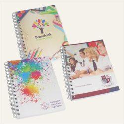 A5 printed wiro academic planner & notebook pfn1019