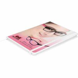 A6 Banbury soft feel printed notebooks pfn1508