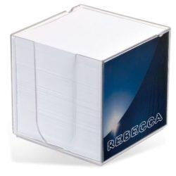Acrylic insert printed memo block pads pfn1505