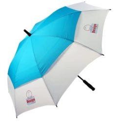 Auto golf vented promotional umbrella pfn1063