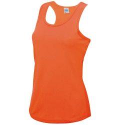 AWDs ladies Just-Cool printed vest tops pfn1808