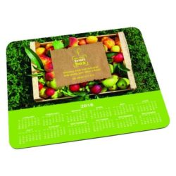 Duplas promotional calendar mouse mat pfn1050
