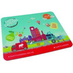 Duplas rectangular promotional mouse mat pfn1048