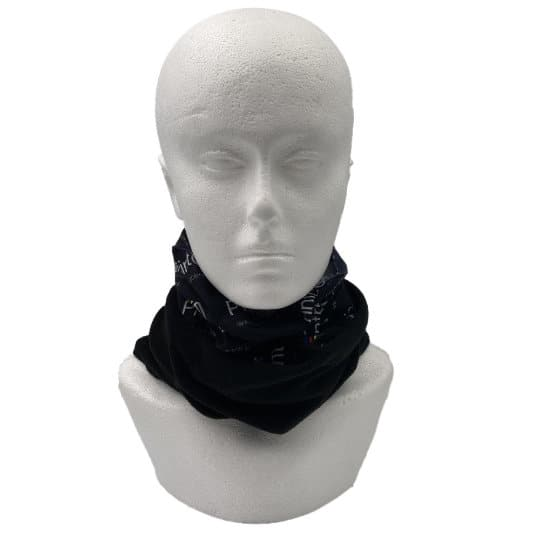 Fleece lined printed snoods pulled down pfn1960