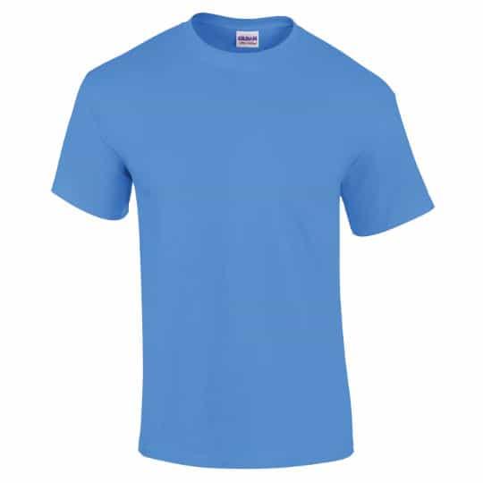 Gildan ultra cotton promotional t-shirts in blue pfn1781
