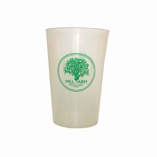 Half pint printed stadium cups pfn1144