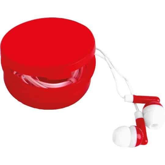 Jam promotional earbuds in red pfn1592