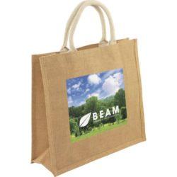 Medium printed jute bags pfn1581